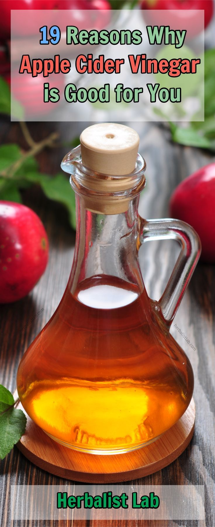 Apple cider vinegar is more than just an ingredient commonly used in your kitchen, with powerful antiseptic properties. Namely, vinegar is able to detoxify your entire organism and eliminate all poisonous compounds and waste. #AppleCiderVinegar