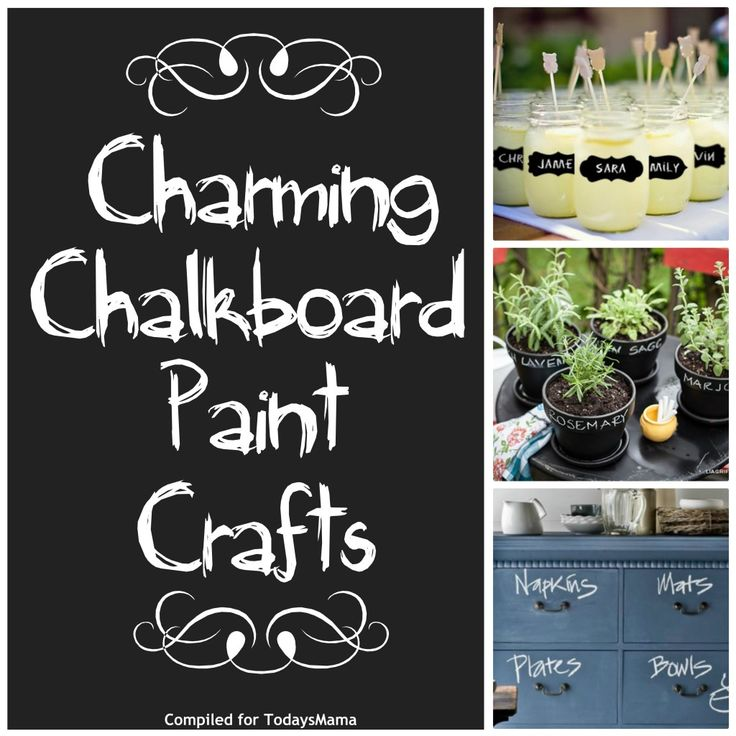 11 Charming Chalkboard Paint Crafts