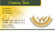 Jewellery Shop visiting Cards are available online at printasia.in