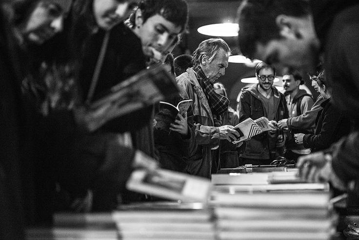 FILBA 2015, sede La Abadía, lectores