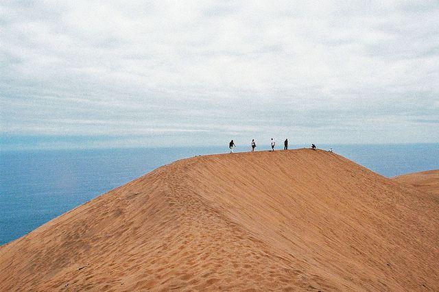 Barbara Matthews Photography, Sand dune. Concon, Chile