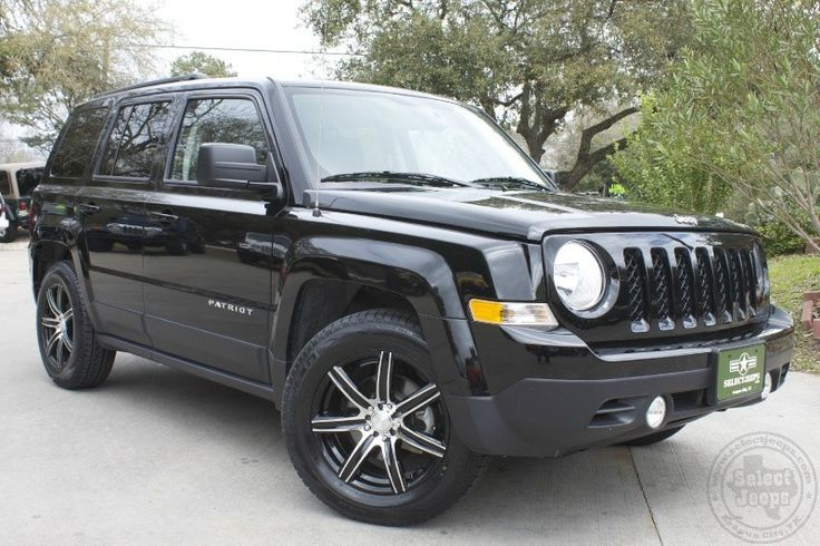 2014 Black Jeep Patriot Sport - Only 11k Miles, New Wheels and Tires!!! http://www.selectjeeps.com/inventory/view/8242530/2014-Jeep-Patriot-FWD-4dr-Sport-League-City-TX