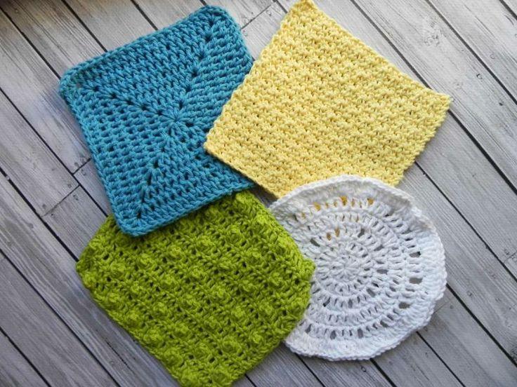 4 Crocheted Washcloths 171 The Yarn Box The Yarn Box For