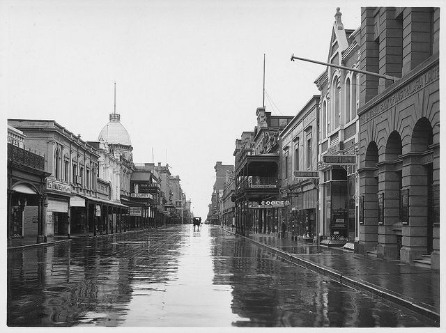 Rundle Street, 1924 by State Library of South Australia, via Flickr