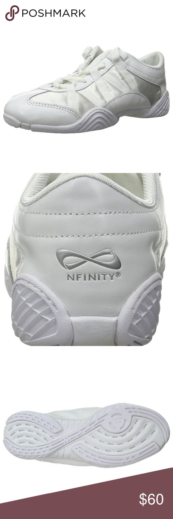 Nfinity cheer shoes. Authentic. NWT. NWT! Never been worn still in case. White. Perfect cheer/tumbling shoes. nfinity cheer shoes Shoes Athletic Shoes
