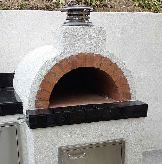 Propane Wood Fired Brick Pizza Oven by BrickWood Ovens