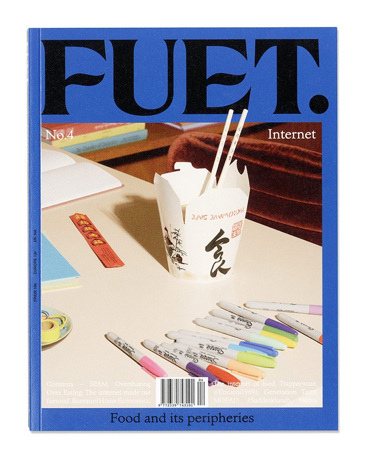Fuet's fourth issue shows Córdova Canillas' cleverly candid design.