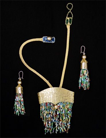 Voula Karampatzaki is an artist working in the fields of jewellery, …