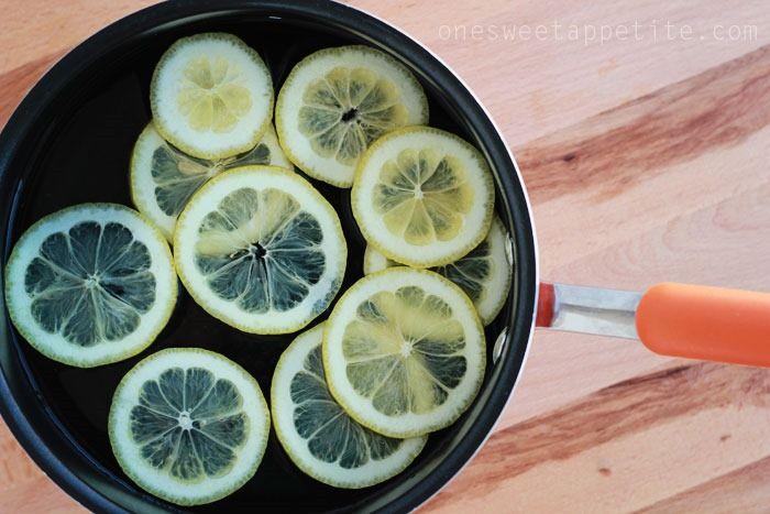 how to make candied lemon peel