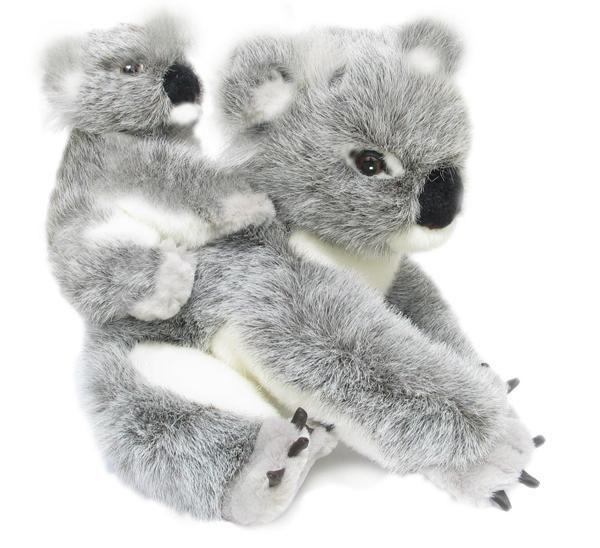 Koala kelly and kiri plush toy