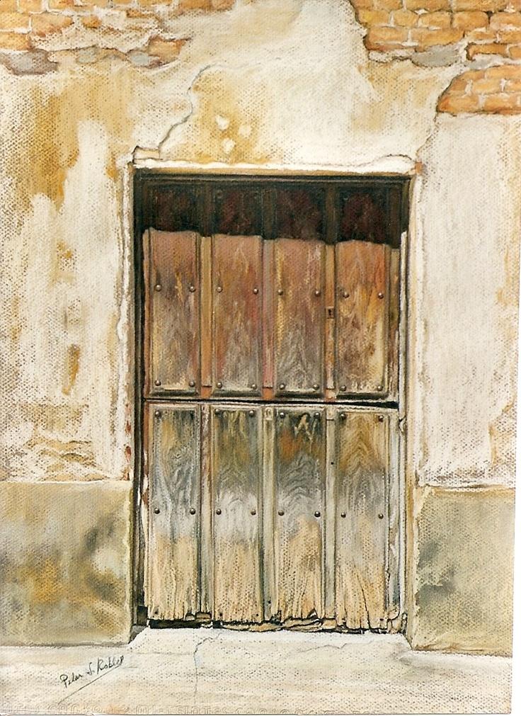 Pilar s robles puerta castellana de dos hojas pastel - Puertas de dos hojas ...