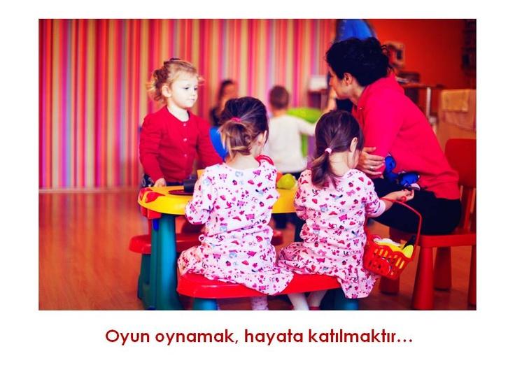 Oyun oynamak hayata katılmaktır... Fotoğraf: Müge Kaya  Yer: Jou Jou Parti ve Aktivite Merkezi