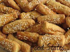 mini salty cookies ...κουλουράκια από το ''τίποτα'' Τα πιο οικονομικά αλμυρά κουλουράκια που υπάρχουν! Θα μπορούσαν κάλλιστα να...