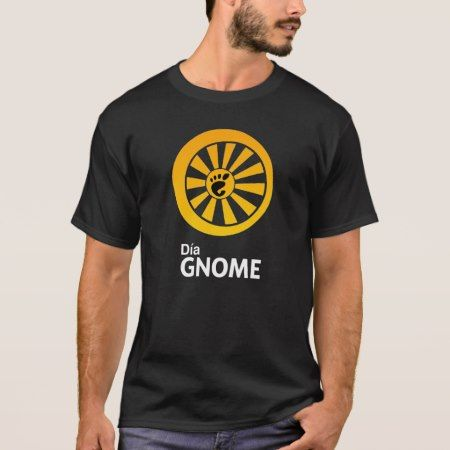 Dia GNOME mens T-Shirt - tap, personalize, buy right now!