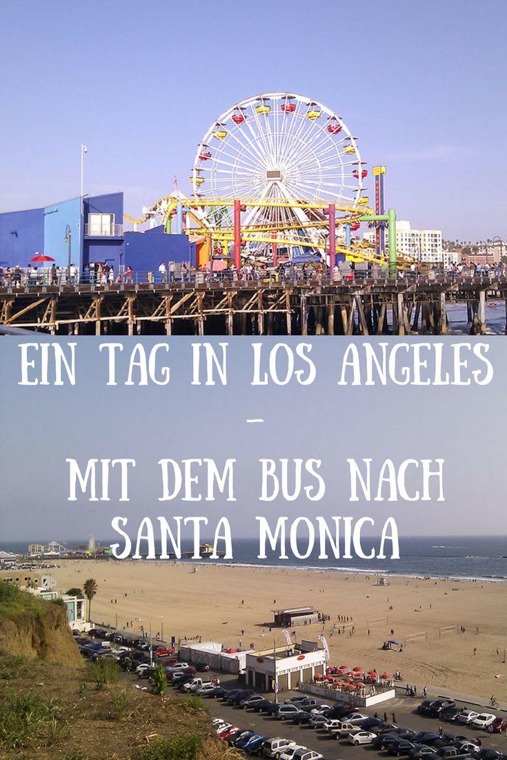 Was macht man an einem Sonntag in #LosAngeles als Prakikantin, wenn man auf sich selbst gestellt ist? Man fährt mit dem Bus runter nach Santa Monica. Eine kleine Story aus meinem Leben in der Stadt der Engel.
