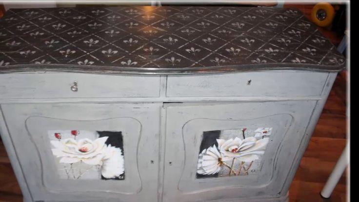 Skænk malet med Annie Sloan Chalk Paint hos Brittas Workshop i Vanløse