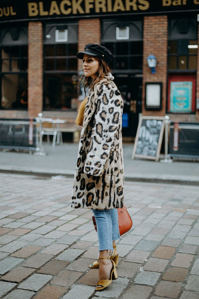 The Little Magpie House of Harlow leopard coat
