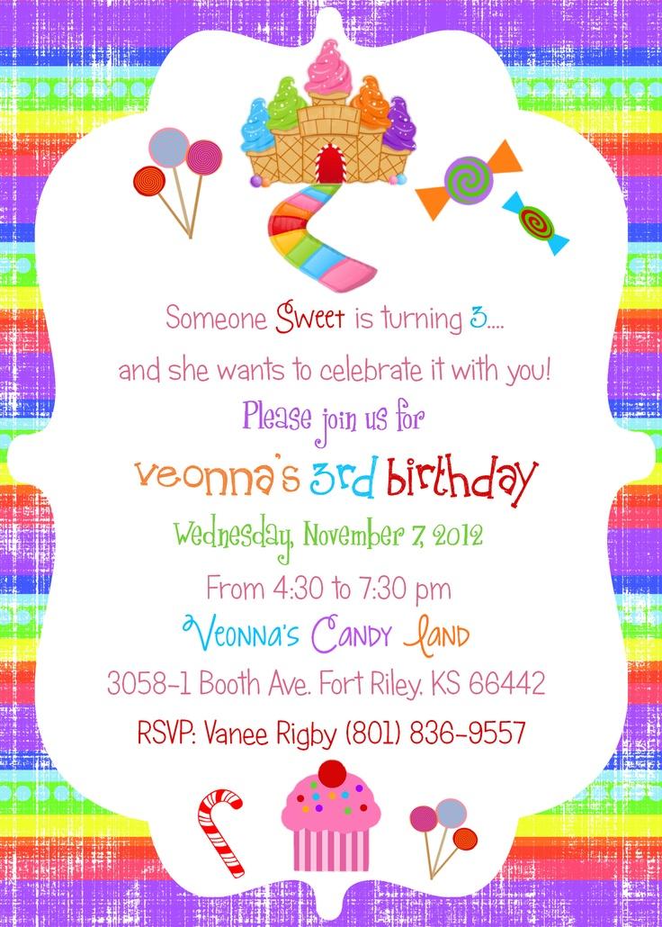 60 best Birthday Invites images on Pinterest   Invites, Disney ...