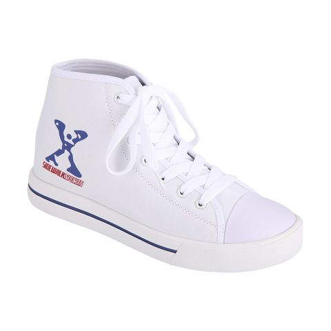 White high tops, Skate shoes
