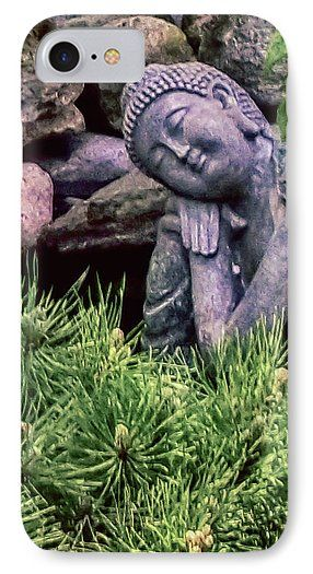 Buddha Statuette Phone Case for Sale by Leslie Montgomery.