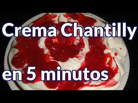 COMO HACER CREMA CHANTILLY + TORTA SELVA NEGRA INDIVIDUAL - Silvana Cocina ❤ - YouTube