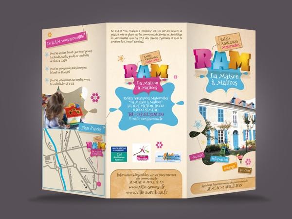 RAM Brochure Design by So Happy , via Behance