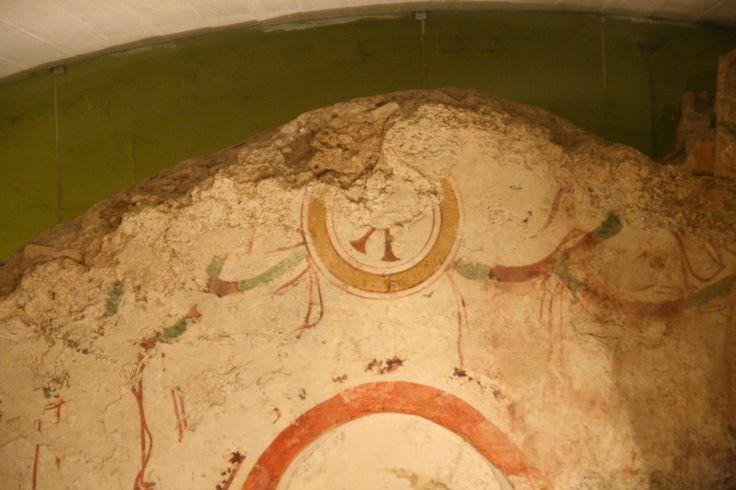 Cimitero paleocristiano di Pecs (Sopianae), Ungheria. Affreschi del IV secolo