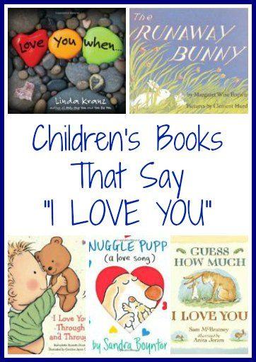 "Children's Books That Say ""I Love You"" | The Jenny Evolution"