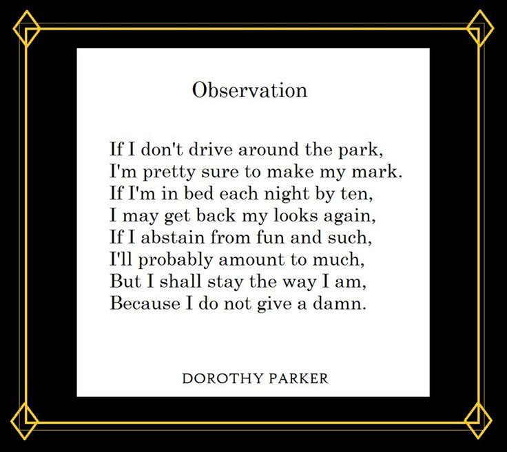 The 17 Best Dorothy Parker Favorite Poet Images On Pinterest