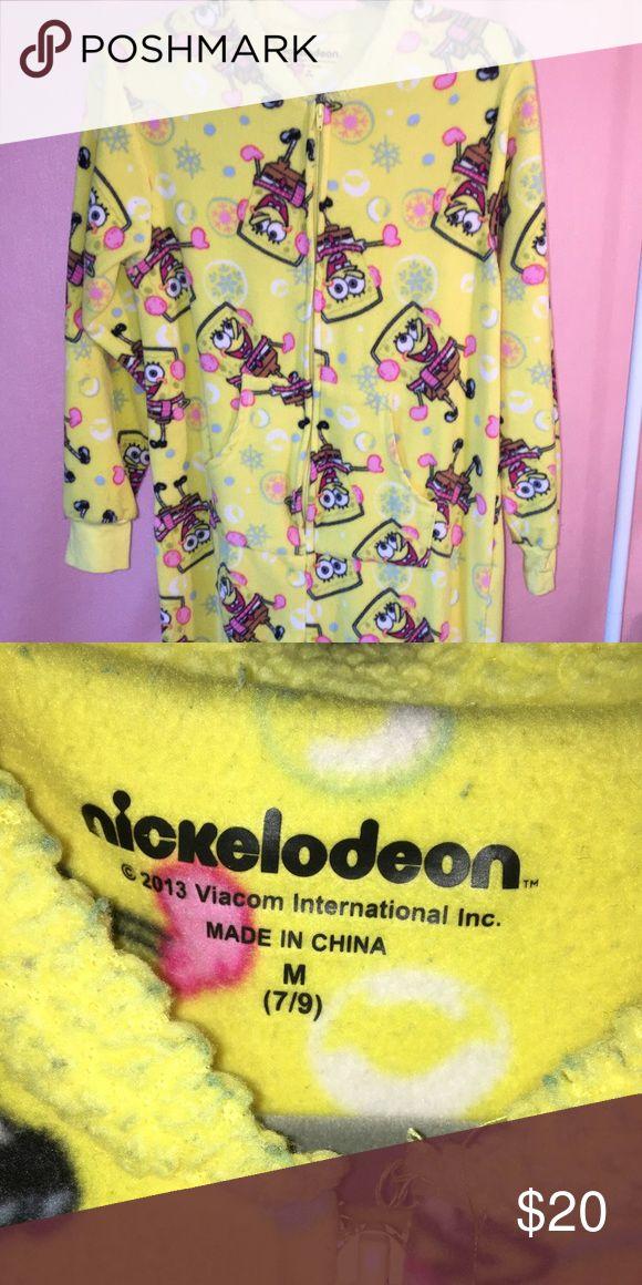 Spongebob onesie With feet Intimates & Sleepwear Pajamas
