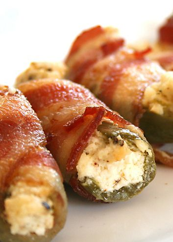 Bacon Wrapped Cream Cheese Jalapeno Bites