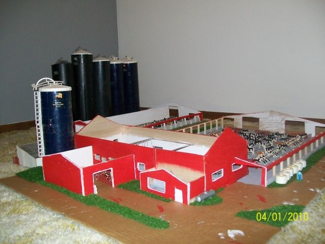 Toy cow barns wow blog for 1 64 farm layouts