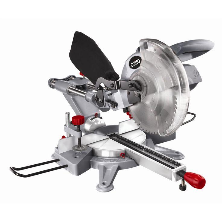 Ozito 1600W 254mm Sliding Compound Mitre Saw - Bunnings Warehouse