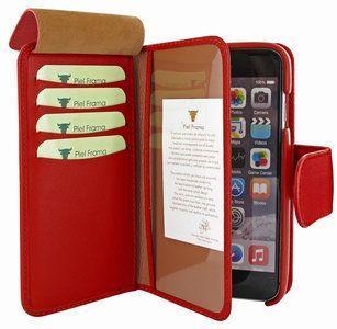 De Piel Frama WalletMagnumcase beschermt je nieuwe Apple iPhone 6 of iPhone 6S tegen krassen en stoten en geeft je tegelijk ruimte om je pasjes en bankkaarten mee te nemen.