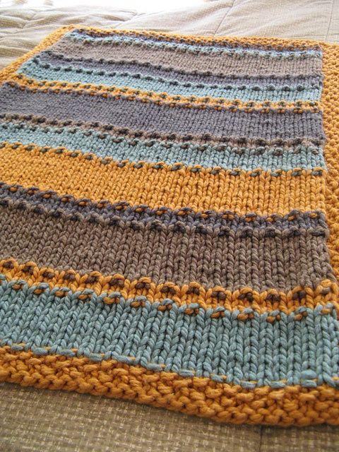 groovy little baby blanket, free pattern.
