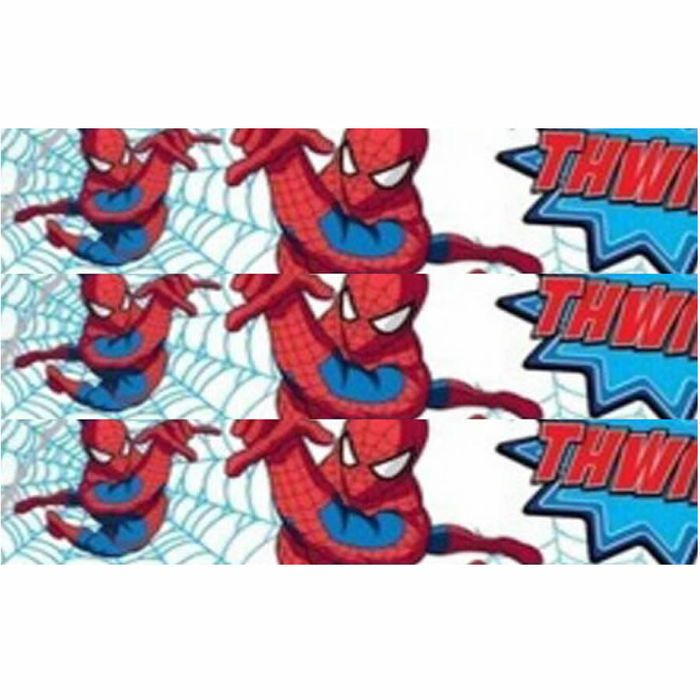 spiderman thwip wallpaper border from a range of wall decor