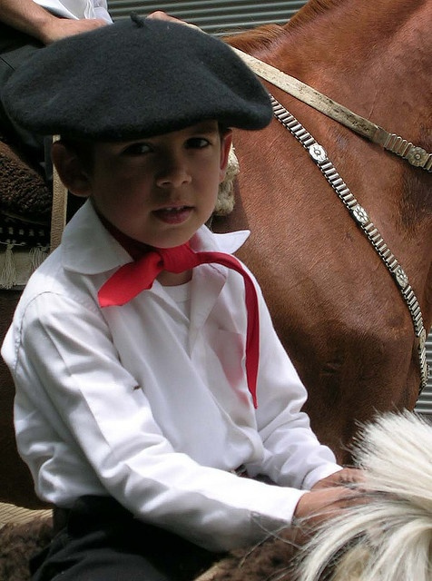 Gaucho in training by Laura Z - Moving to Argentina, via Flickr