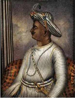 Tipu Sultan (1753-99) was born in Devanahalli, Bangalore. He took over after his father Hyder Ali in 1782 during the Second Anglo-Mysore war. Tipu won the war and ruled over Bangalore till 1799. He died fighting in the fourth Anglo-Mysore war. Tipu was a learned person and an able administrator. He built a library containing about 2000 books in Arabic, Persian and Indian languages.