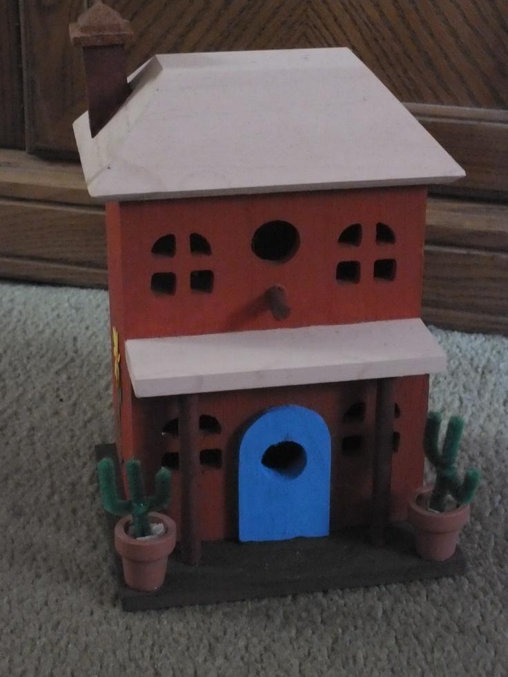 Southwestern birdhouse.