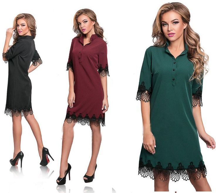 Spring New Style Women's Party Dress Casual Half Sleeved Lace Sheath Bodycon Mini Dresses Vestidos Street Dresses Dark Green,Red