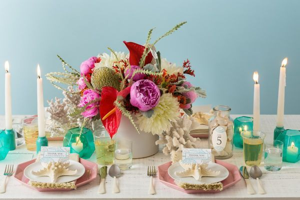 Simple seaside elegance with the DIY beach-themed wedding tablescape. I'm pinning this idea for a chance to win a share of $7,500 in cash, plus Avery Products in the Avery 2015 Wedding Sweepstakes! Avery is giving away three monthly prizes of $1,000 plus a grand prize of $4,500. Contest runs through 6/30/15. Rules here: avery.com/weddings. [Promotional Pin]