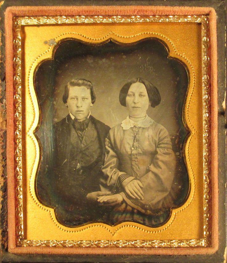 Couple Holding Hands Daguerreotype   eBay