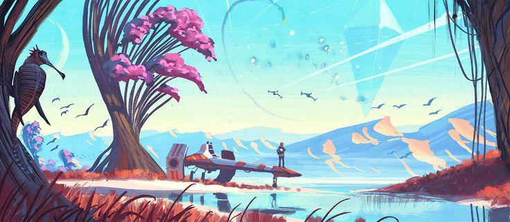 No Man's Sky gets gorgeous new screenshots ahead of E3 2015 | VG247
