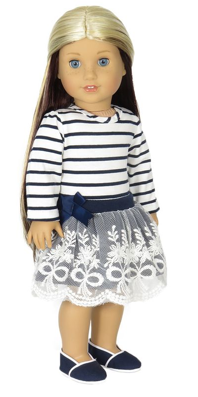 Trendy Doll Clothes for American Girl and American Boy Dolls