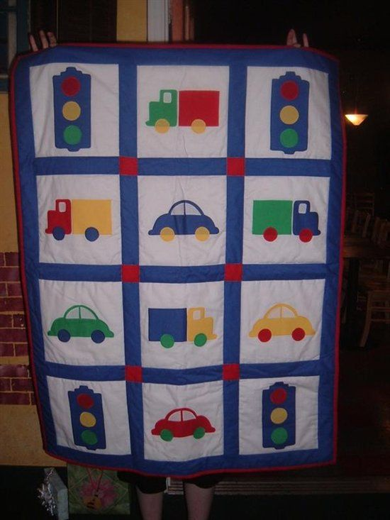 Here are some of my first Baby quilts that I designed. - Quilters Club of America
