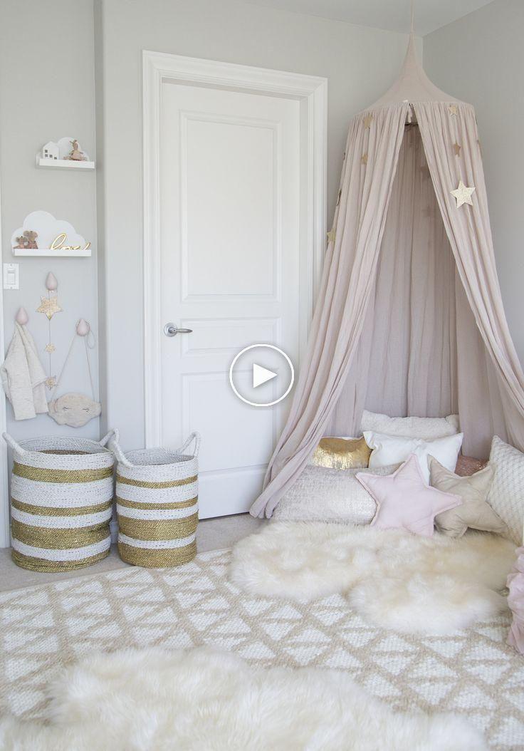 Pantones Quartz Rose Rend La Plus Belle Chambre Pour Petite Fille