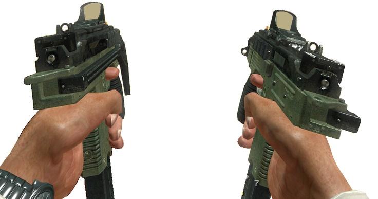 Call of Duty - MW3: MW3 Machine Pistols