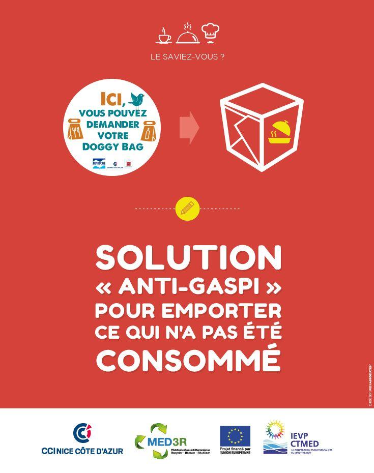"Le doggy bag : solution ""anti-gaspi"""