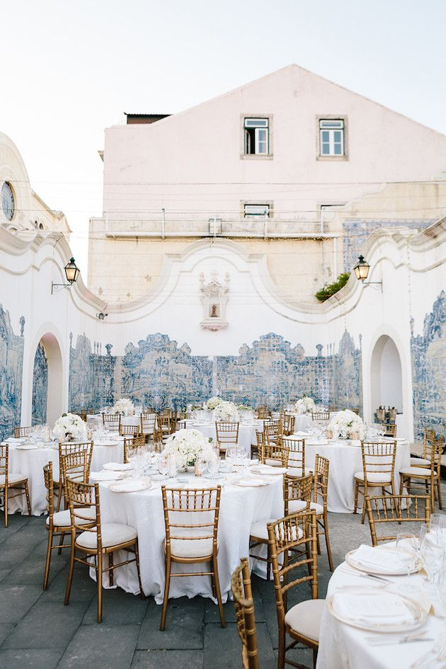 Fred and Jessica's gorgeous destination wedding at São Vicente Palacio in Lisbon, Portugal. Photography by STUDIO 1208