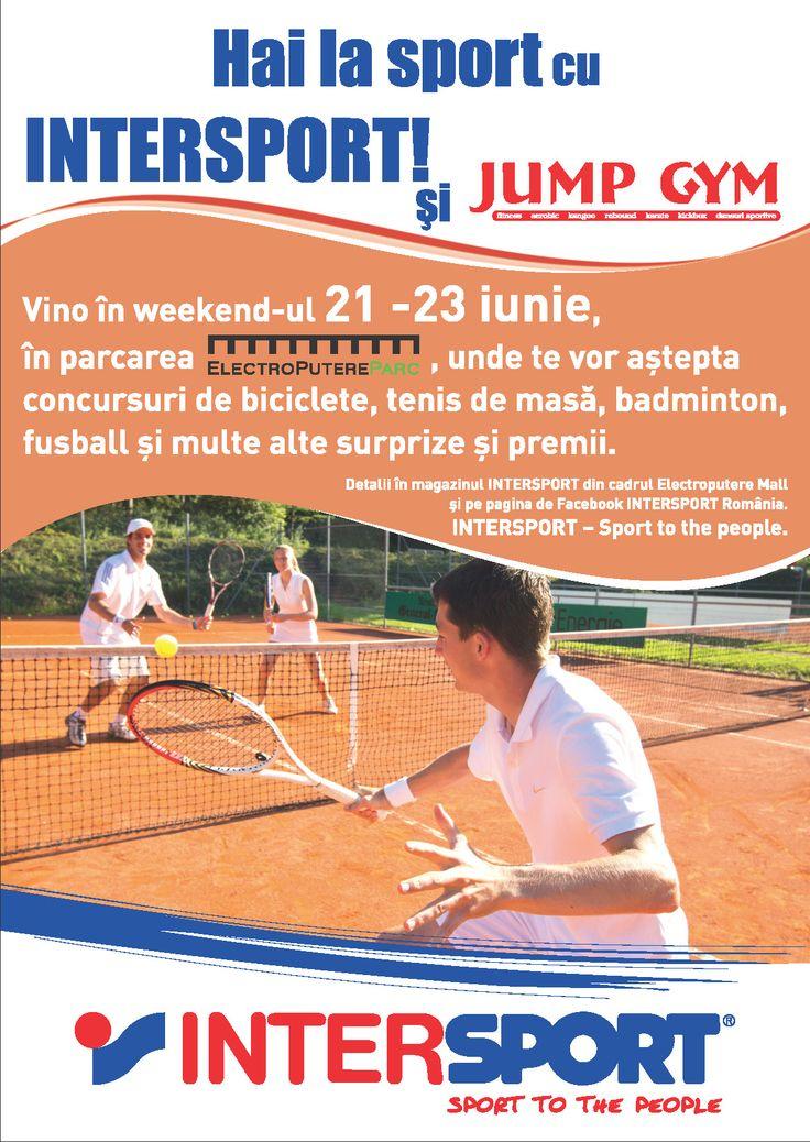 Multe concursuri si la Craiova!  Cine are chef de joaca weekendul asta? #intersport #intersportro